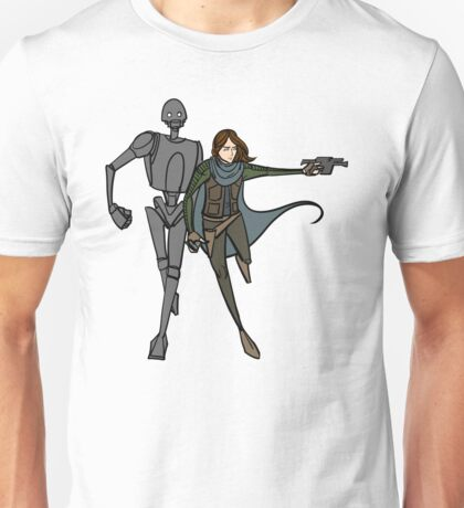 Jyn and K-2SO Unisex T-Shirt