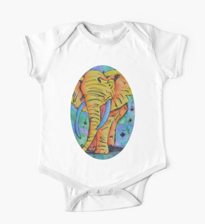 The Elephant in the Atmosphere One Piece - Short Sleeve