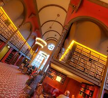 40th Floor Library by Adam Bykowski