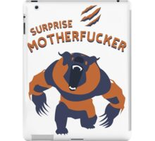 Ursa shirt dota2  iPad Case/Skin
