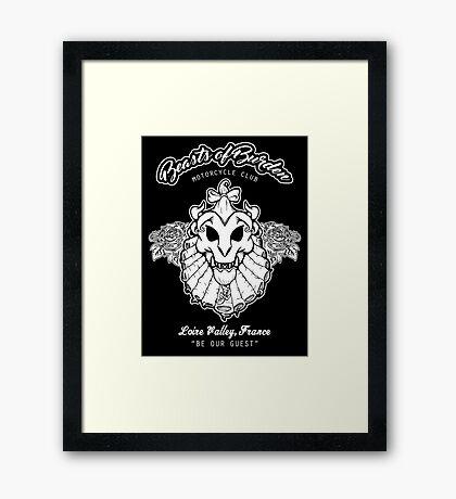 Beasts of Burden Biker Club Framed Print