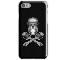 Skull Mechanic and Pistons iPhone Case/Skin