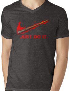 Negan - Just Do It Mens V-Neck T-Shirt