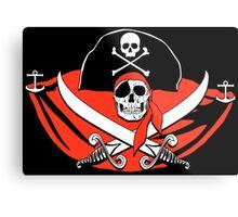 Pirates of the Caribbean Skull Metal Print