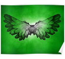 Wings in nebula Poster