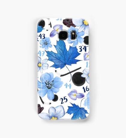 Floral Toronto Maple Leafs Design Samsung Galaxy Case/Skin