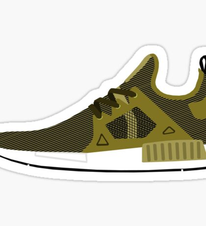 NMD XR1 Olive Sticker