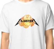 LIL UZI VERT LOGO FIRE / EXPLOSION Classic T-Shirt