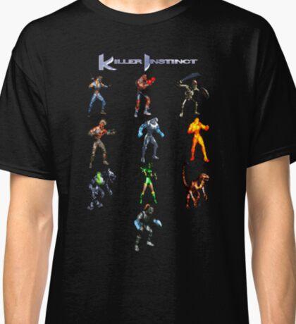 Killer Instinct (SNES Character Lineup) Classic T-Shirt