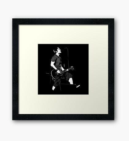 Tony Sly Framed Print