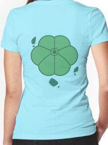 Bulbasaur Back Women's Fitted V-Neck T-Shirt