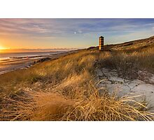 Lighthouse in the dunes Photographic Print