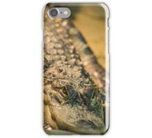 Saltwater Crocodile - Ballarat Wildlife Park iPhone Case/Skin