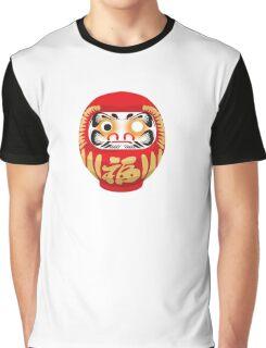Daruma Doll Graphic T-Shirt