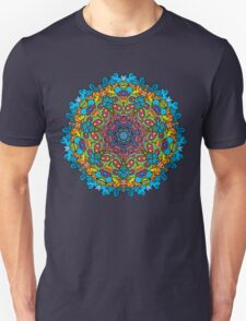 Psychedelic jungle kaleidoscope ornament 33 T-Shirt