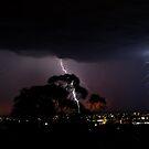 Lightning Storm Adelaide by Tara Schultz