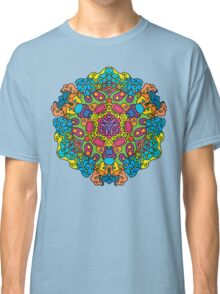 Psychedelic jungle kaleidoscope ornament 34 Classic T-Shirt