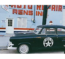New Orleans Police Car Photographic Print