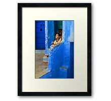 The Blue City I Framed Print