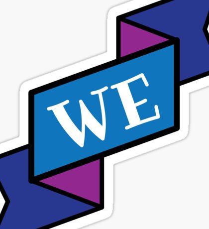 we pronouns Sticker