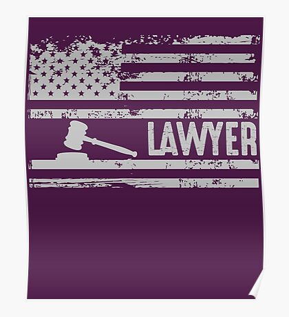 American Lawyer Poster