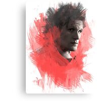 Matt Smith | Paint Portrait Canvas Print