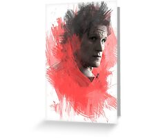 Matt Smith | Paint Portrait Greeting Card