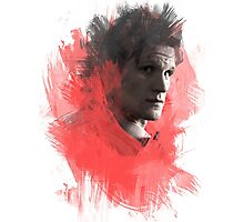 Matt Smith | Paint Portrait Photographic Print