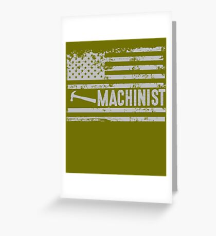 American Machinist Greeting Card