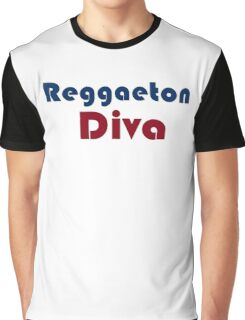 Reggaeton Diva 3 Graphic T-Shirt