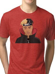 FREE XXXTENTACION SKI MASK THE SLUMP GOD Tri-blend T-Shirt