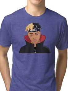 FREE XXXTENTACION SKI MASK THE SLUMP GOD Tri-blend T-Shirt