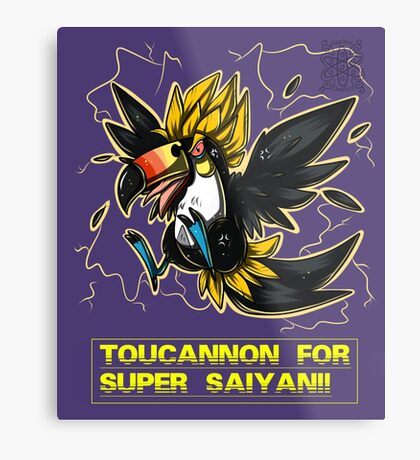 Super Saiyan Toucannon Metal Print