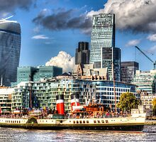 The Waverley and London by DavidHornchurch