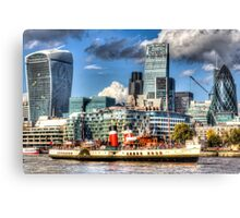 The Waverley and London Canvas Print
