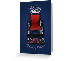 Roller Queen Greeting Card