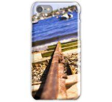 Train Tracks Bright | Greenwich Baths iPhone Case/Skin