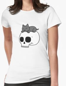 wolfpupy sleeping Womens Fitted T-Shirt