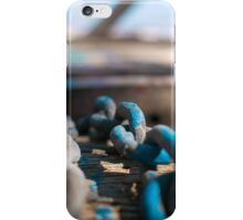 Chain Reaction   Greenwich Baths iPhone Case/Skin