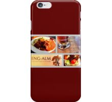 Lunch at the Eng Alm  iPhone Case/Skin