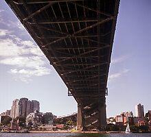 Sydney Harbour Bridge by Brett Rogers