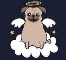 Pug Angel Kids Tee