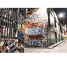 Hosier Lane, Melbourne OCT 2014 Photographic Print