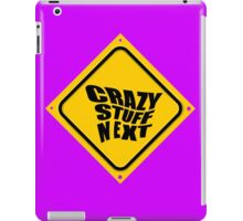 CRAZY STUFF NEXT iPad Case/Skin