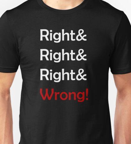 Right Cenk? Right? Unisex T-Shirt