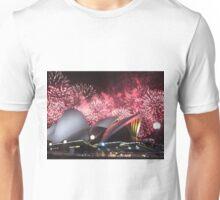 Sydney Opera House up in Lights Unisex T-Shirt