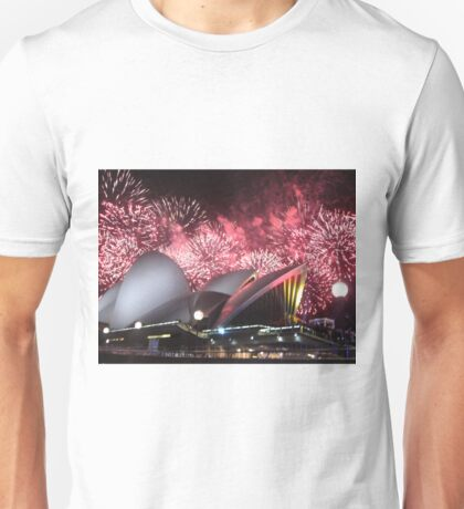 Sydney Opera House up in Lights Unisex T-Shirt