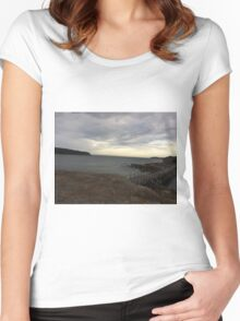 Pretty day at La Perouse, Sydney, Australia  Women's Fitted Scoop T-Shirt