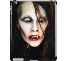 Woman Vampire Mask iPad Case/Skin