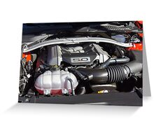 2015 Ford Mustang GT Greeting Card